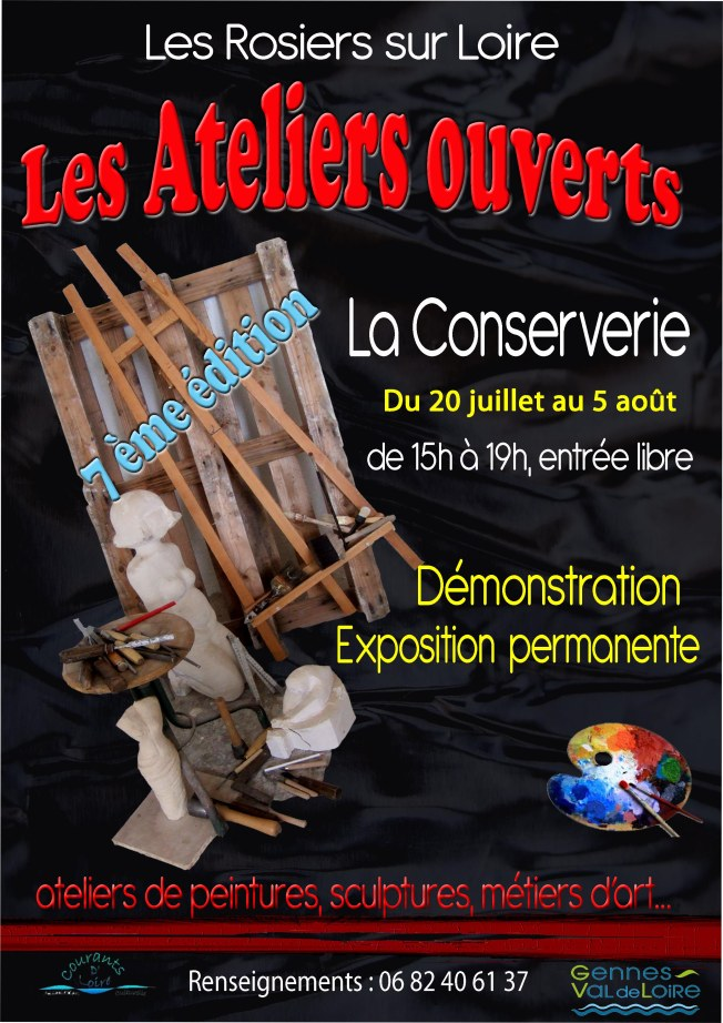 affiche marie ateliers